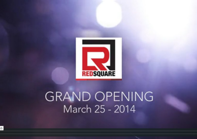 Red Square Grand Opening Event