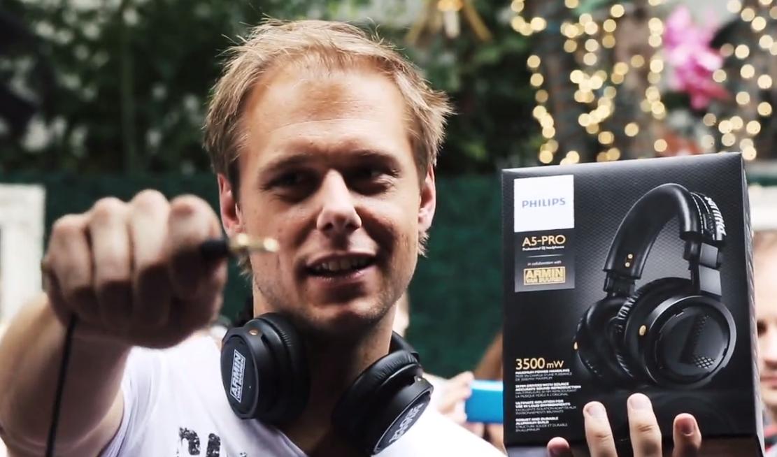 PHILIPS Launching A5 PRO presented by Armin Van Buuren