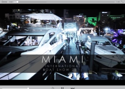 SUNSEEKER Miami International Boat Show 2013